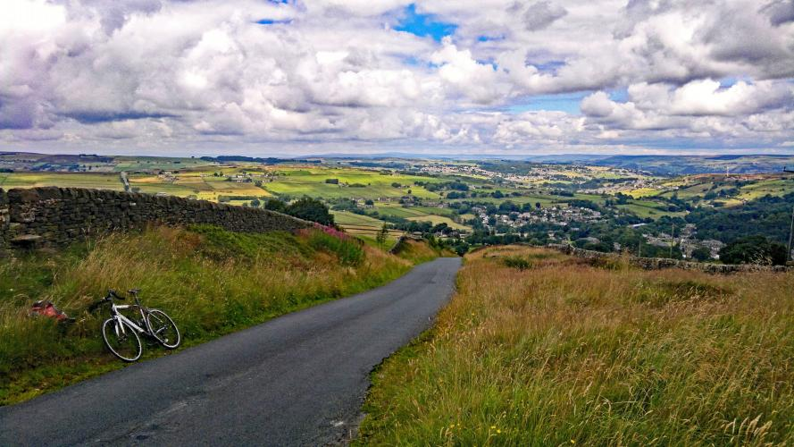 Oxenhope Moore South Bike Climb - PJAMM Cycling