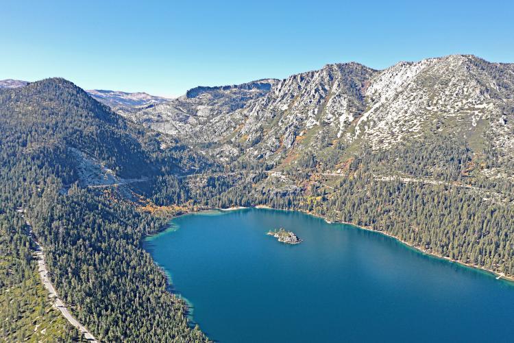 Lake Tahoe Bike Climb - PJAMM Cycling
