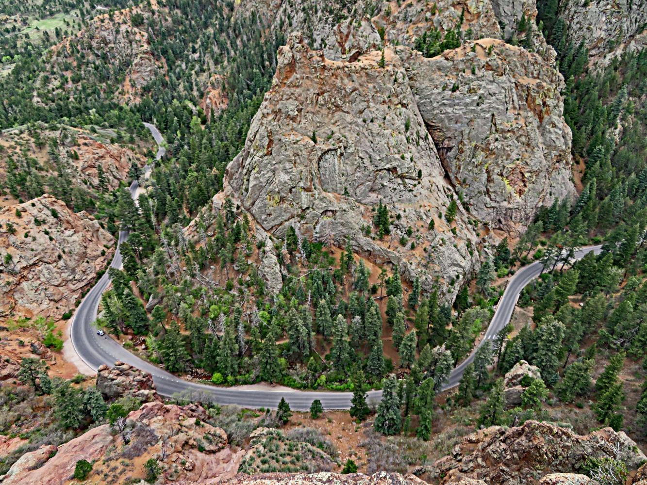 North Cheyenne Canyon Bike Climb - PJAMM Cycling