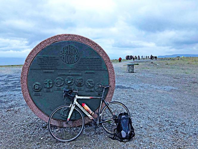 Nordkapp Bike Climb - PJAMM Cycling