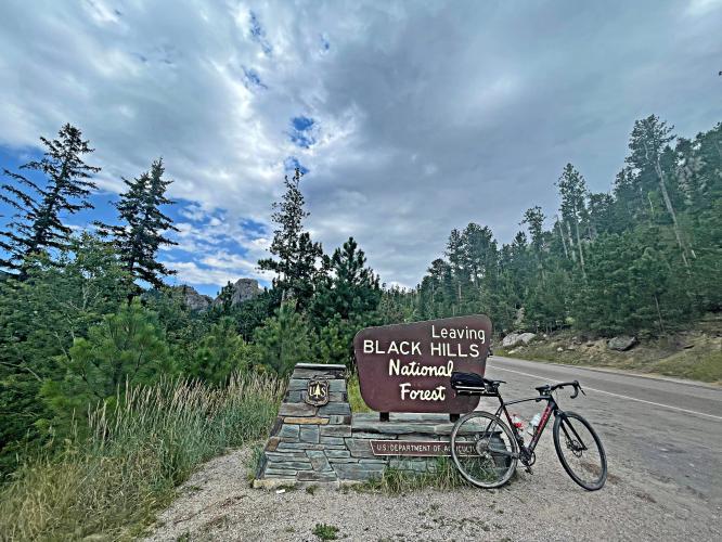 Sylvan Lake Bike Climb - PJAMM Cycling