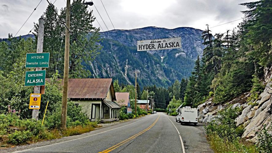 Salmon Glacier Road  Bike Climb - PJAMM Cycling