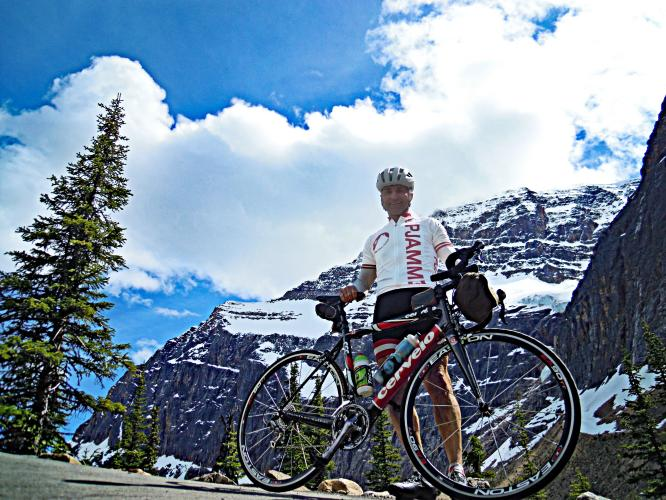 Mount Edith Cavell Bike Climb - PJAMM Cycling