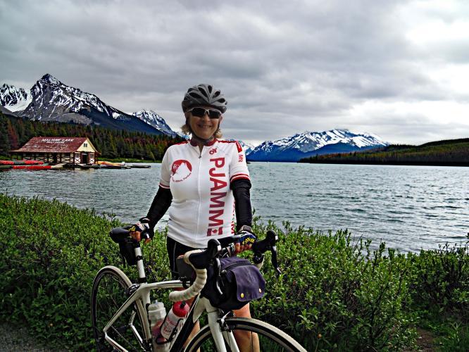 Maligne Lake Bike Climb - PJAMM Cycling