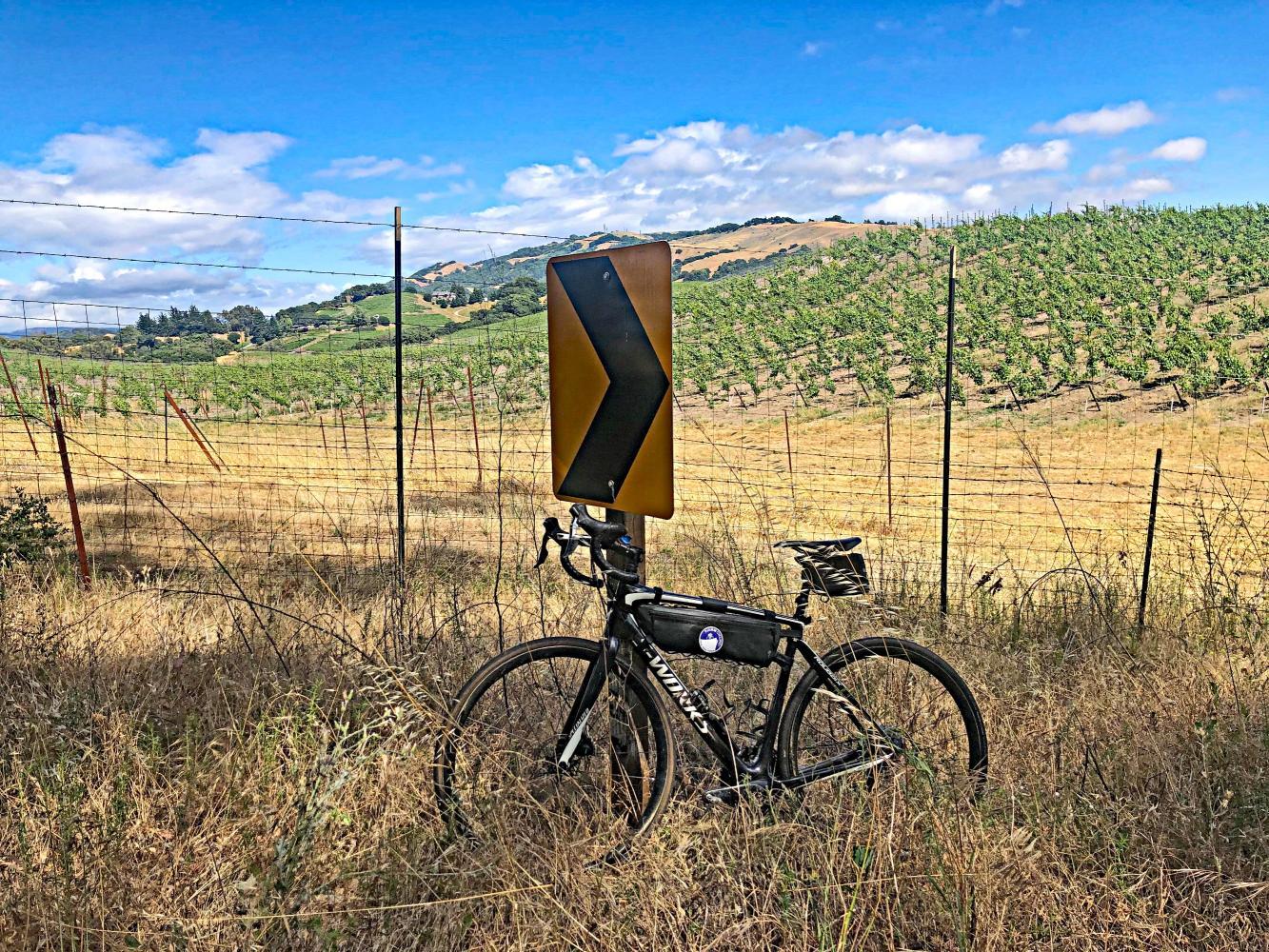 Crane Canyon West Bike Climb - PJAMM Cycling