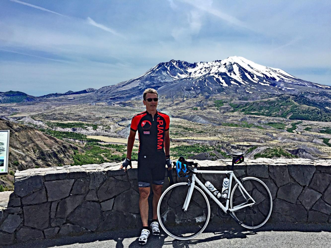 Johnston Ridge - Mt. St. Helens Bike Climb - PJAMM Cycling