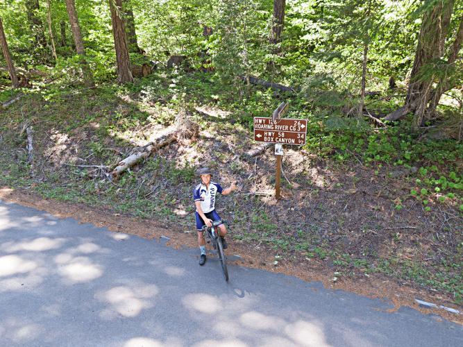 Aufderheide Scenic Byway North Bike Climb - PJAMM Cycling