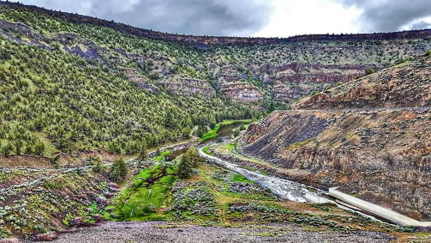 Crooked River Canyon Bike Climb - PJAMM Cycling