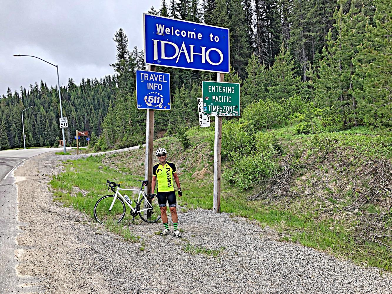 Lolo Pass (Montana) Bike Climb - PJAMM Cycling