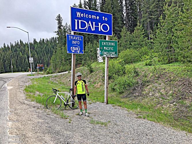 Lolo Pass (Montana) Bike Climb - PJAMM Cycling