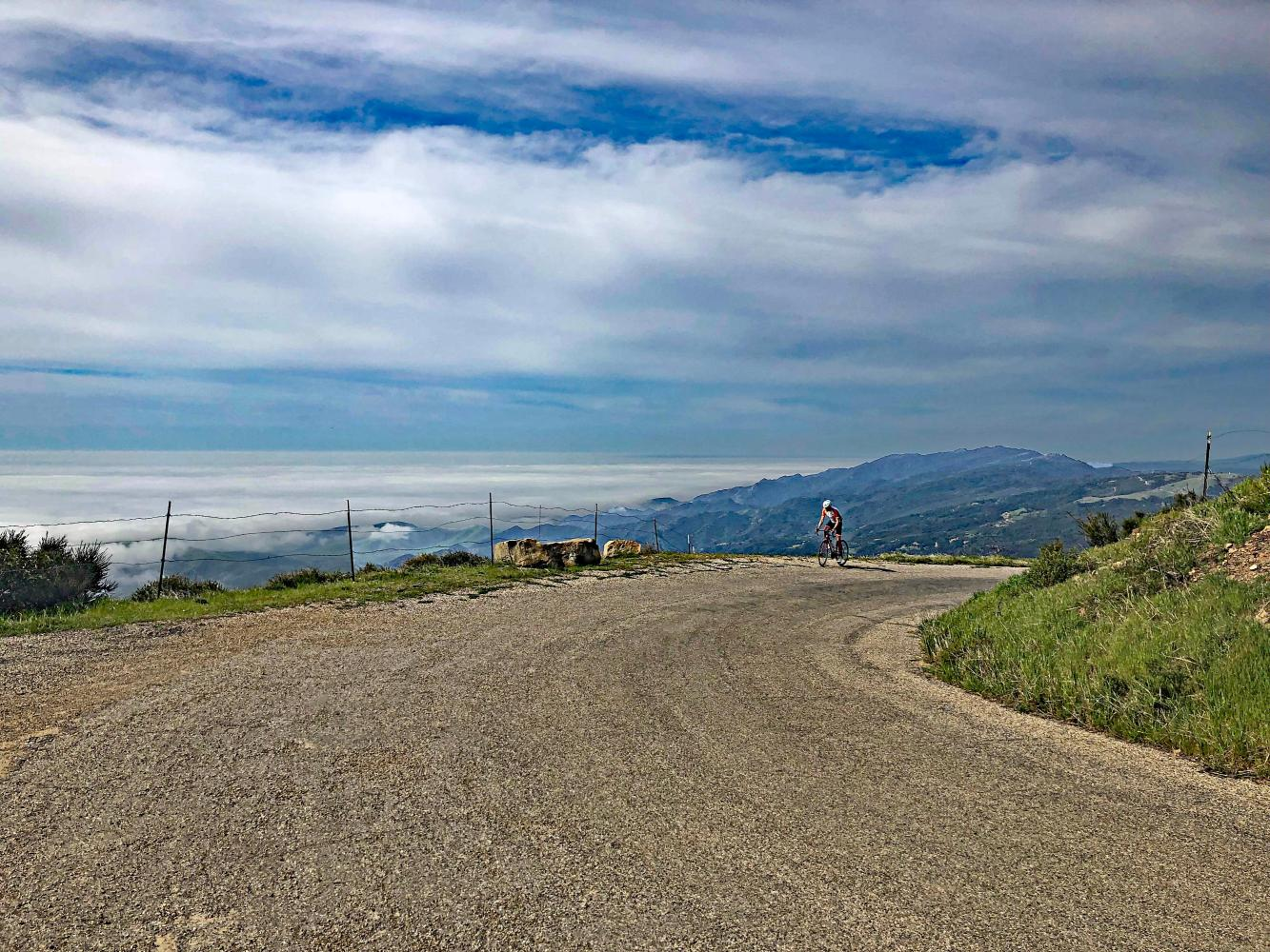 Refugio Road Bike Climb - PJAMM Cycling