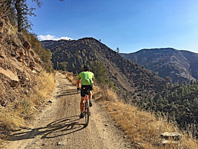 Burma Grade - Bull Creek Road Bike Climb - PJAMM Cycling