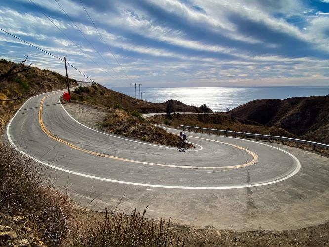 Decker Canyon Road Bike Climb - PJAMM Cycling