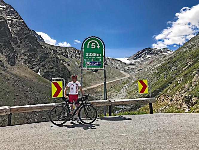 Rettenbachferner Bike Climb - PJAMM Cycling