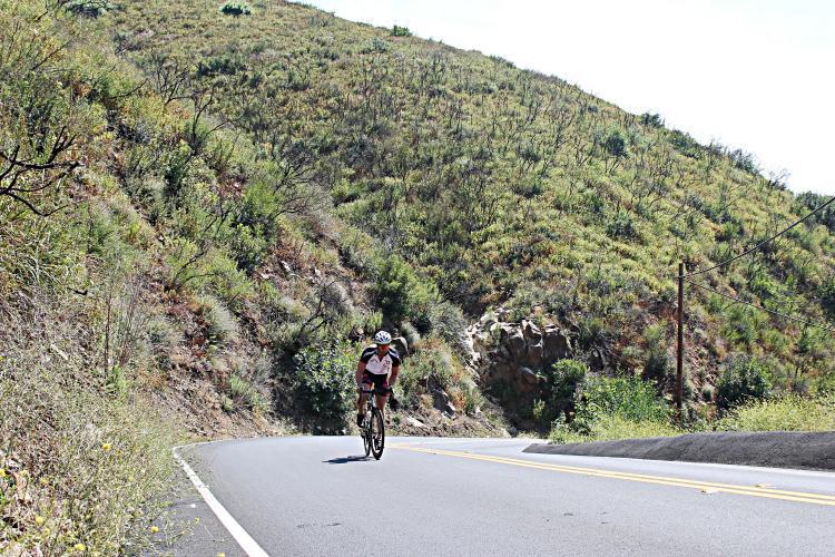 Las Flores Canyon Bike Climb - PJAMM Cycling