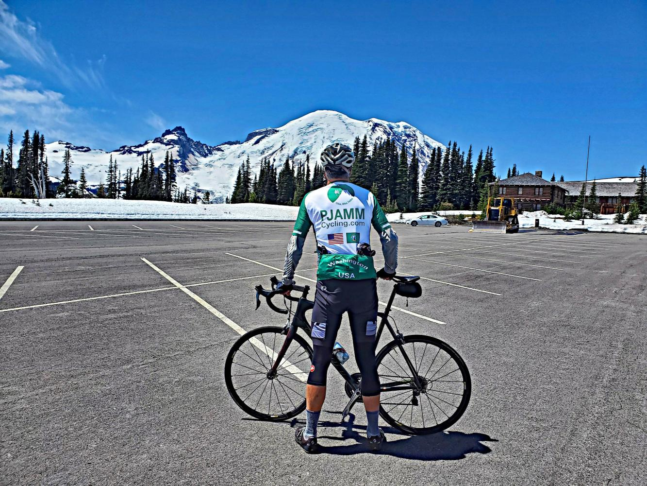 Mt. Rainier (Sunrise VC) Bike Climb - PJAMM Cycling