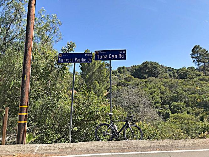 Tuna Canyon East Bike Climb - PJAMM Cycling