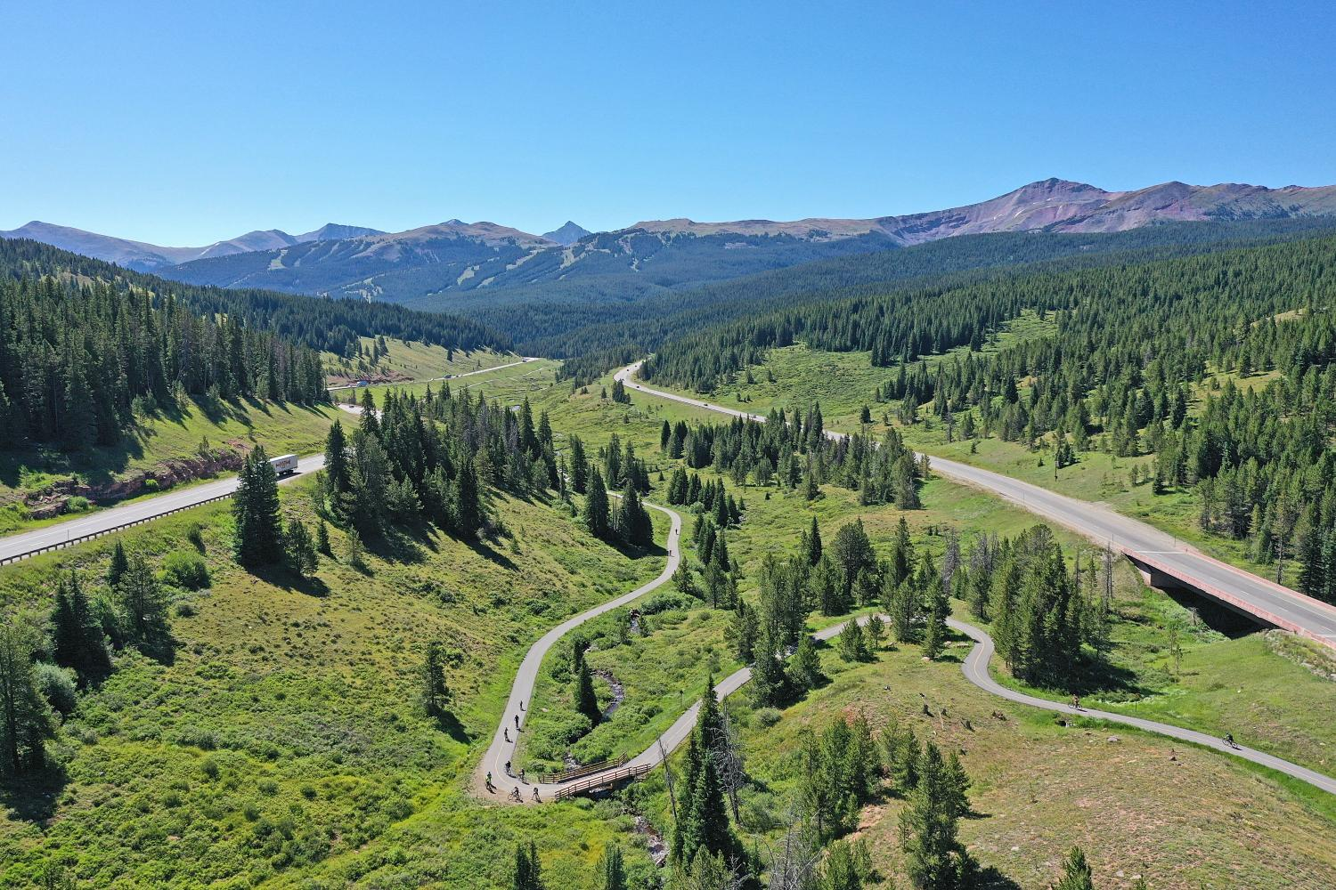 Vail Pass East Bike Climb - PJAMM Cycling