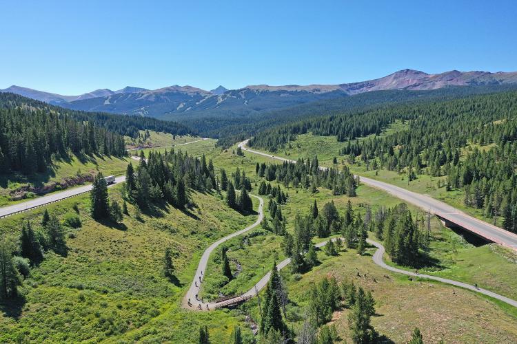 Vail Pass East Bike Climb - PJAMM Cycling