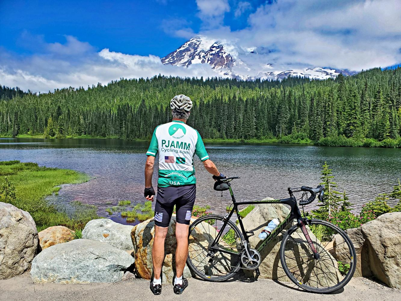 Mt. Rainier (Stevens Canyon) Bike Climb - PJAMM Cycling