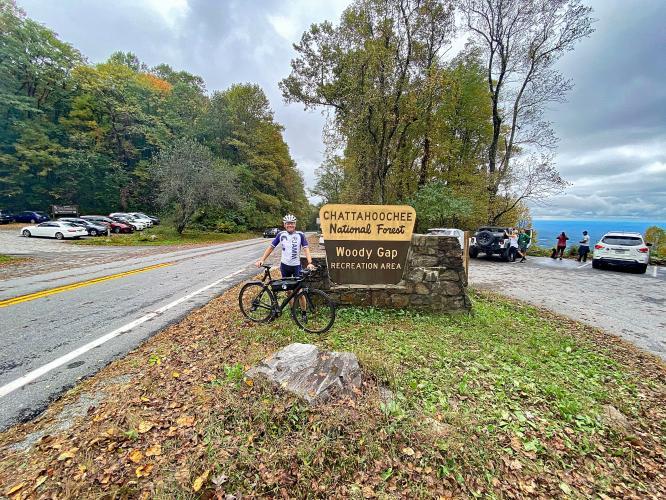 Woody Gap North Bike Climb - PJAMM Cycling