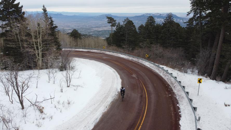 Sandia Crest Bike Climb - PJAMM Cycling