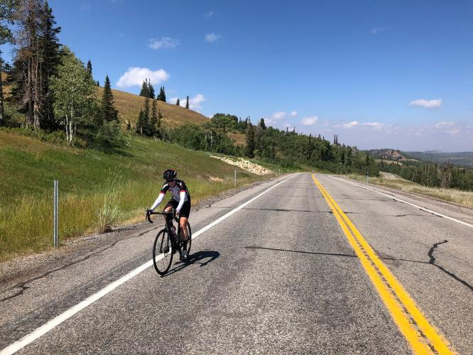 Hwy 31 West Bike Climb - PJAMM Cycling