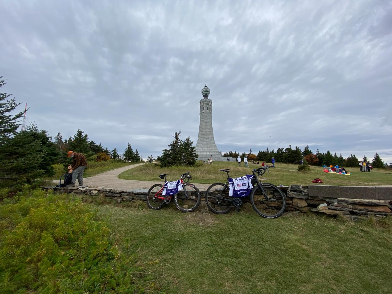 Mt. Greylock South Bike Climb - PJAMM Cycling