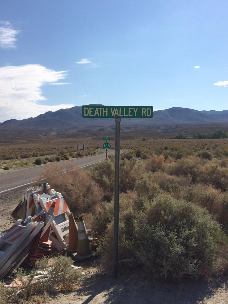 Death Valley Road (East) Bike Climb - PJAMM Cycling