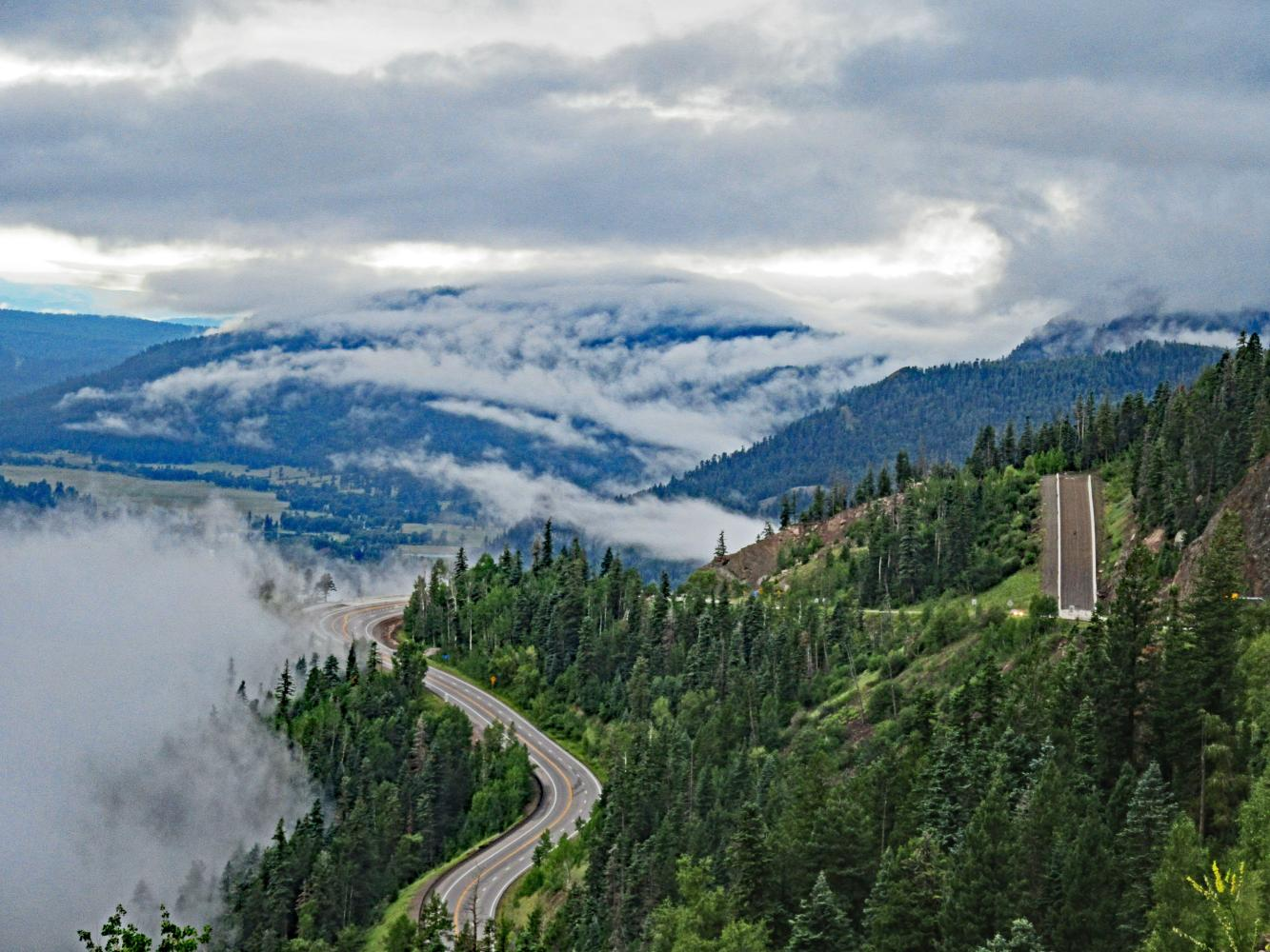 Wolf Creek Pass, South Bike Climb - PJAMM Cycling