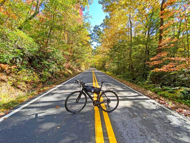 Wolfpen Gap West Bike Climb - PJAMM Cycling