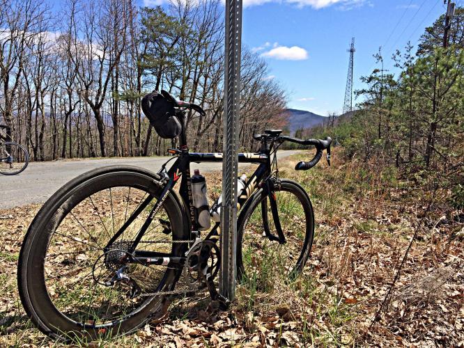 Sauratown Mountain Road Bike Climb - PJAMM Cycling