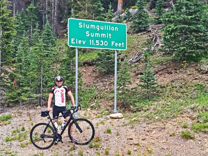 Slumgulion Pass Bike Climb - PJAMM Cycling