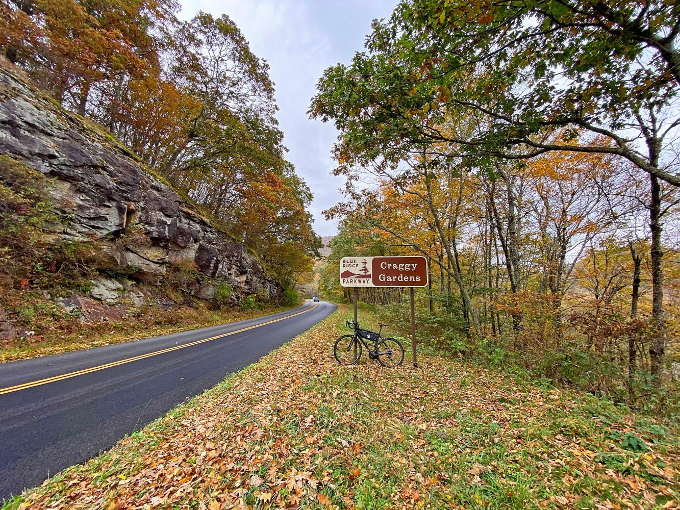 Blue Ridge Pkwy to Craggy Gardens Bike Climb - PJAMM Cycling