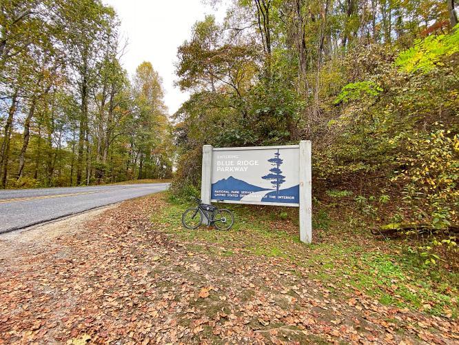 Blue Ridge Parkway - Cherokee Hill Bike Climb - PJAMM Cycling