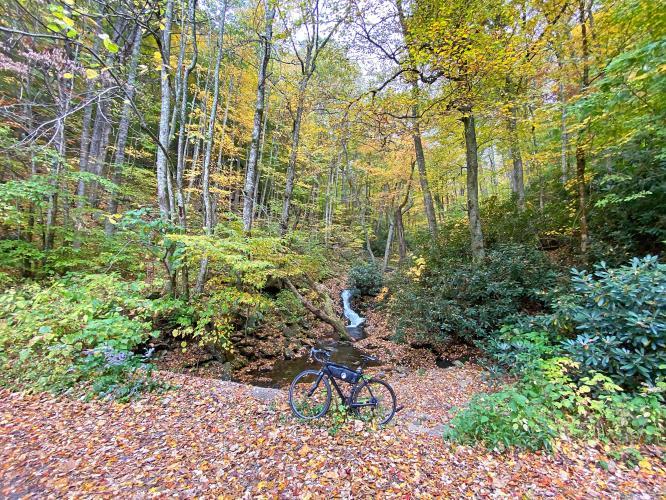 Stoney Fork Road North Bike Climb - PJAMM Cycling