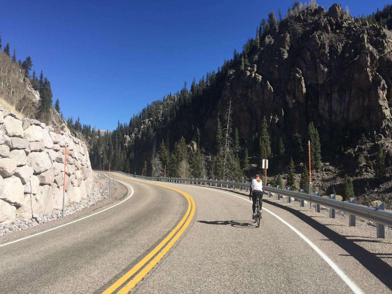Hwy 153 Bike Climb - PJAMM Cycling