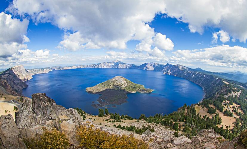 Crater Lake - Steel VC to Rim Bike Climb - PJAMM Cycling