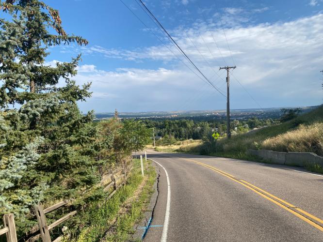 Linden Avenue Bike Climb - PJAMM Cycling