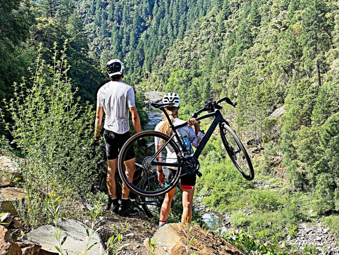 The Corkscrew Bike Climb - PJAMM Cycling