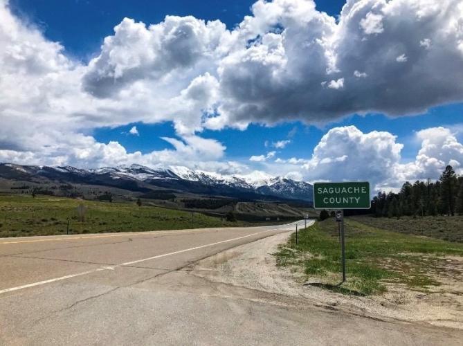 Poncha Pass North Bike Climb - PJAMM Cycling