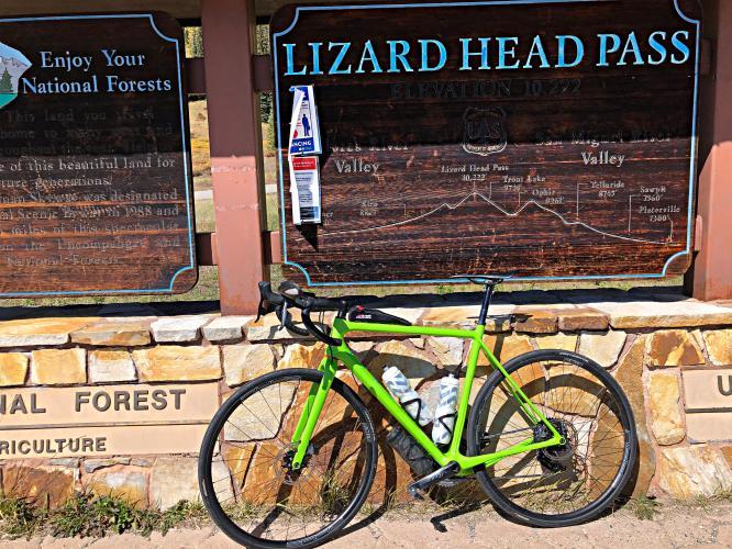 Lizard Head Pass South Bike Climb - PJAMM Cycling