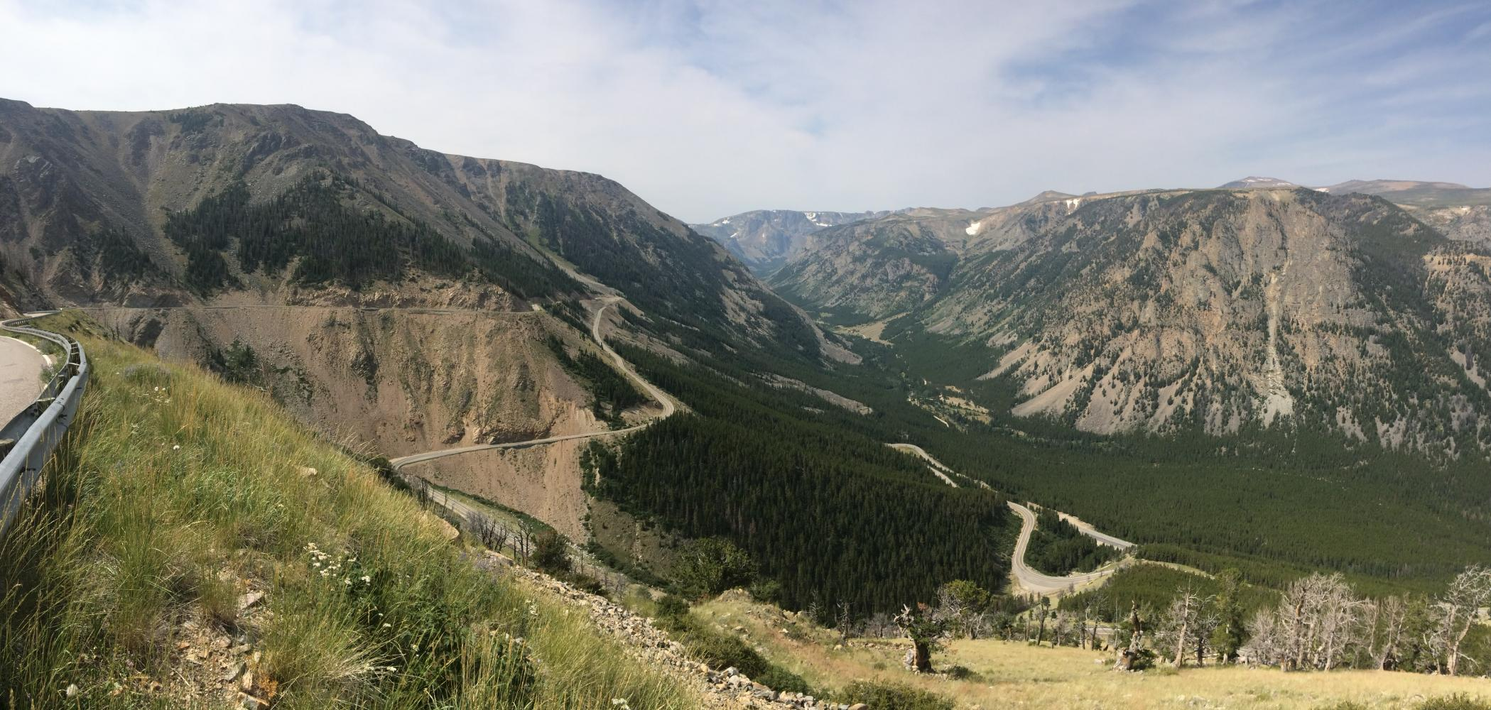 Beartooth Pass North Bike Climb - PJAMM Cycling