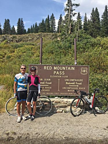 Red Mountain Pass South Bike Climb - PJAMM Cycling