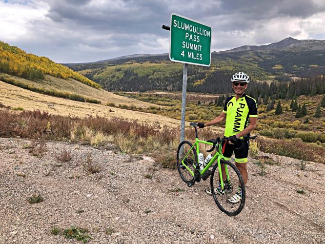 Slumgullion Pass East Bike Climb - PJAMM Cycling