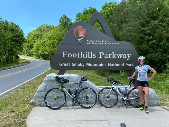 Foothills Parkway North  Bike Climb - PJAMM Cycling