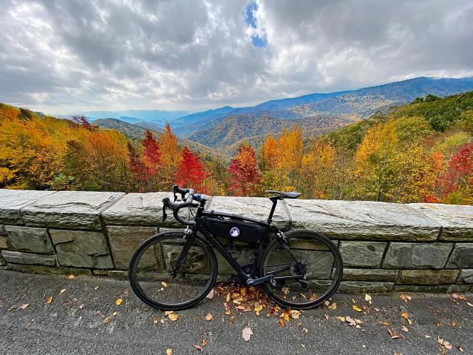 Clingmans Dome (Oconaluftee VC) Bike Climb - PJAMM Cycling