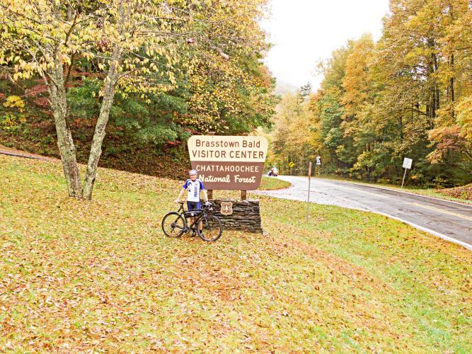 Jacks Gap East Bike Climb - PJAMM Cycling