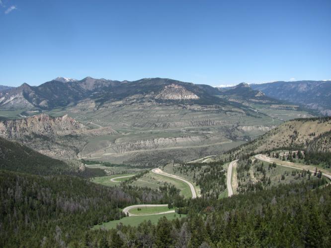 Chief Joseph Pass West Bike Climb - PJAMM Cycling