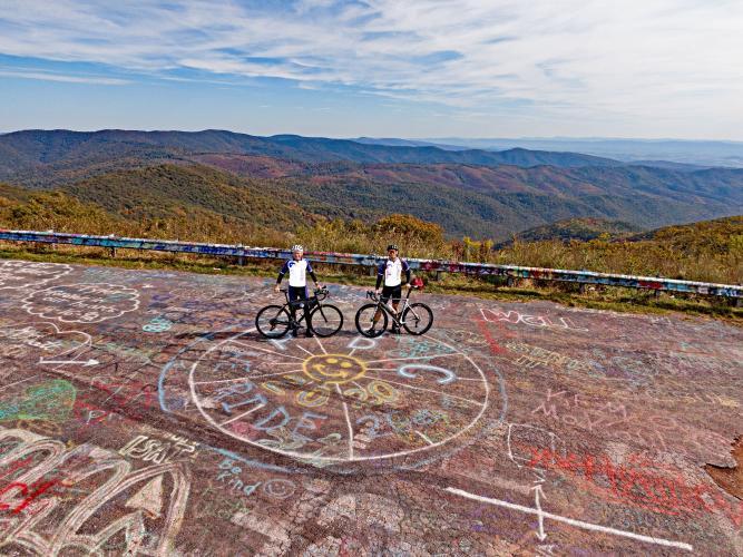 Reddish Knob (West Virginia) Bike Climb - PJAMM Cycling